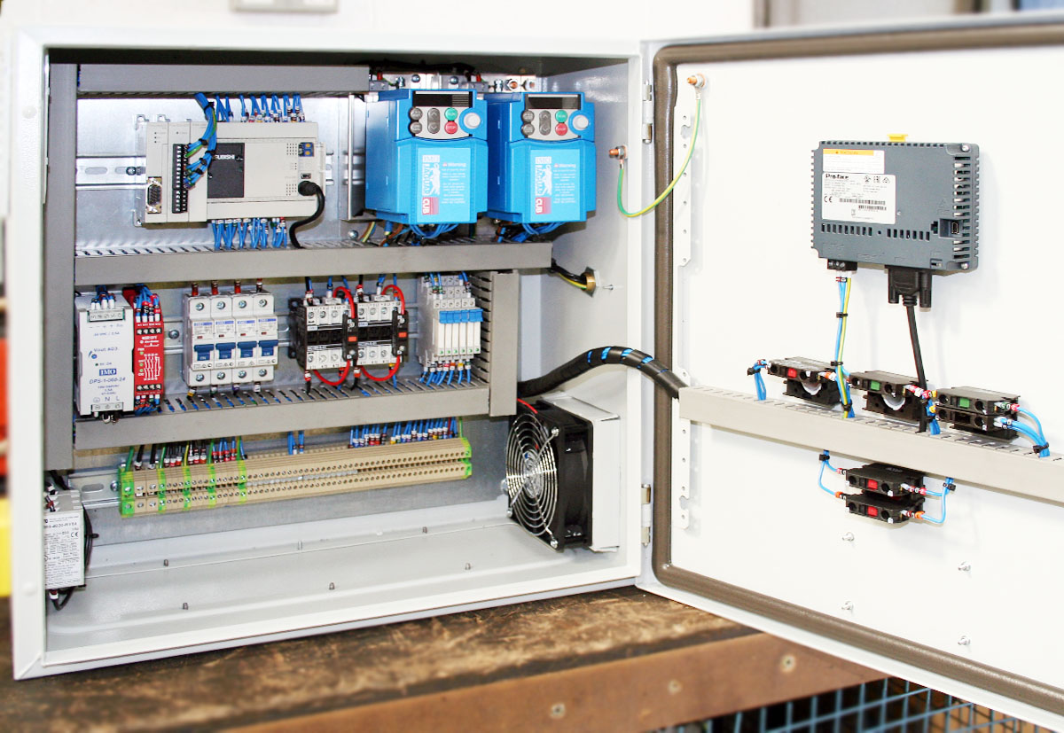 Control Panel Design & Manufacture - Rotor Technical Services