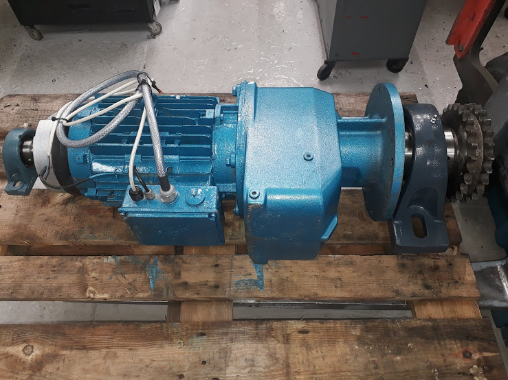 Nord Helical Geared Motor Refurbishment