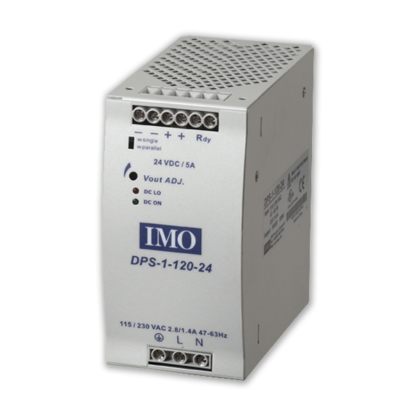 IMO Power Supplies 5W – 480W, 24VDC Output