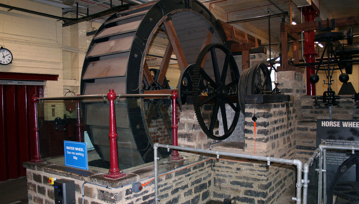 19th Century Water Wheel